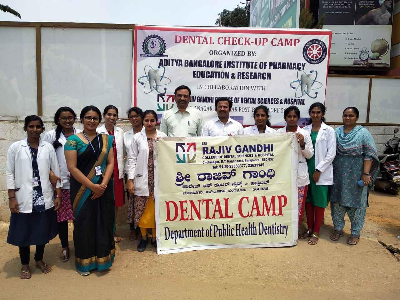 Dental Check-Up Camp &